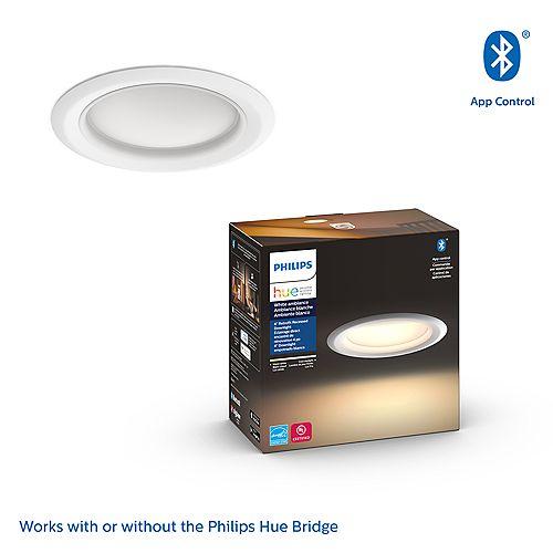 Philips Hue White Ambiance  4 inch Retrofit Smart LED Downlight