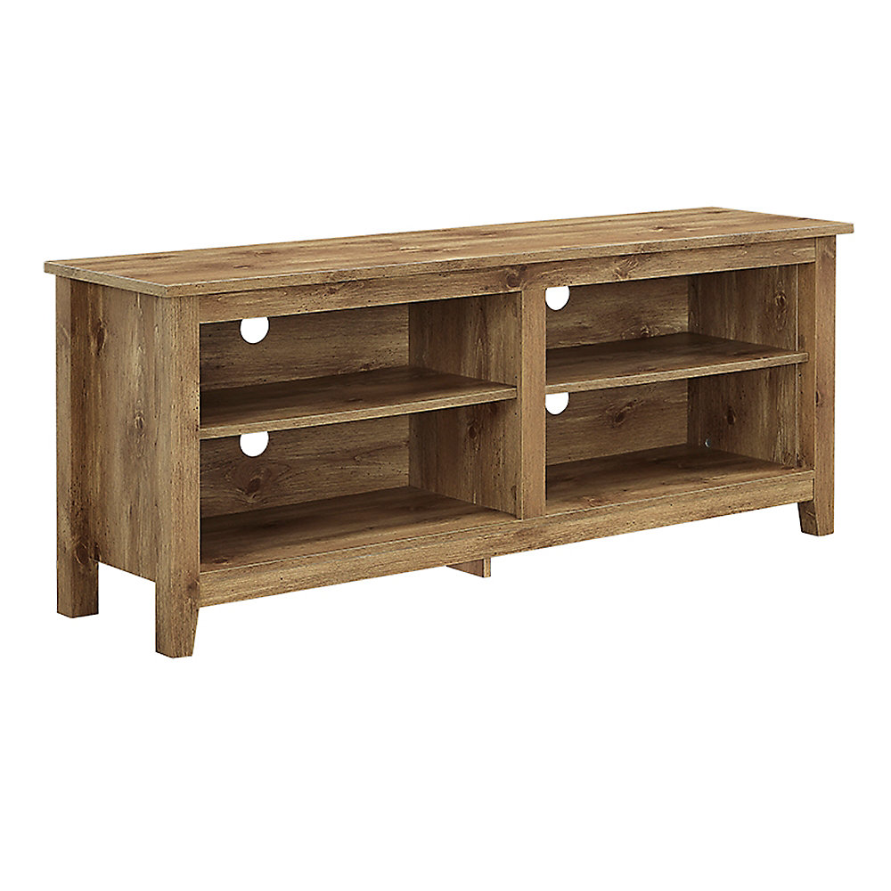 Walker Edison Minimal Farmhouse Tv Stand For Tv S Up To 64