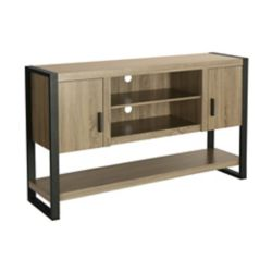 Walker Edison Table de buffet pour télévision en bois de 152,4 cm (60 po) en Bois flottant de