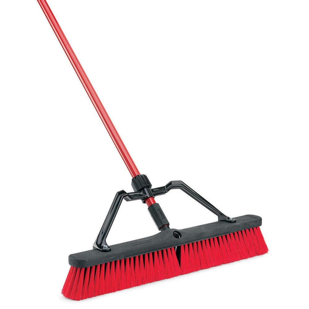 24 inch Multi-Surface Heavy Duty Push Broom