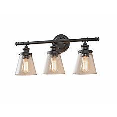 Luminaire de meuble - lavabo à 3 ampoules