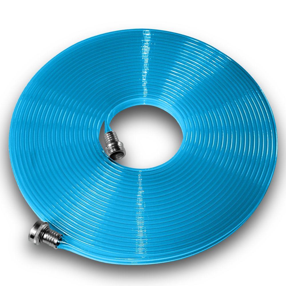 Flat Hose Polyurethane Flat Hose 5/8-inch x 50 ft. Blue