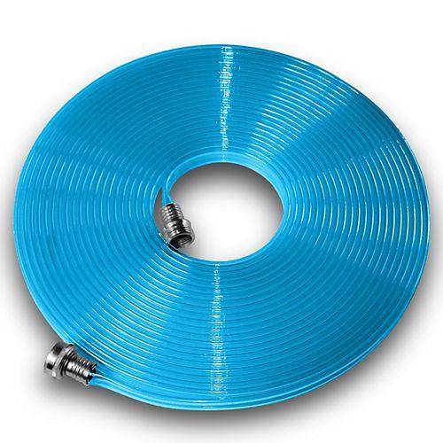 Flat Hose Tuyau plat en polyuréthane 5/8 po x 25 pi Bleu