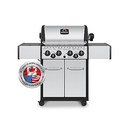 40,000 BTU Cabinet-Style Propane BBQ
