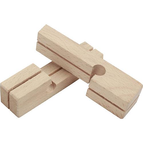 Wood Line Blocks Pair