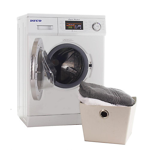 1200 RPM High Efficiency Front Load Washer with Automatic Water Level and Delay Start