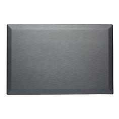 Tapis de série couture 24 x 36 x 3/4 pouces, acier gris