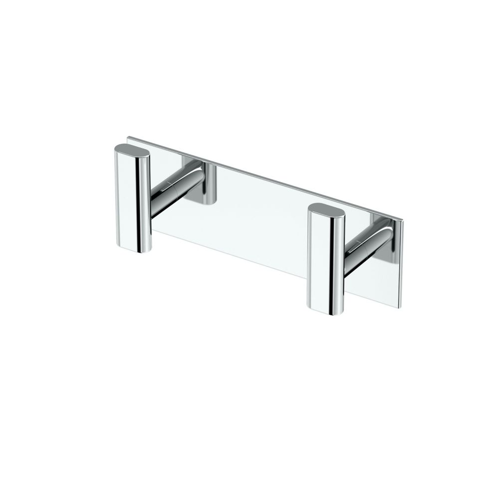 Gatco Elevate All Modern Décor 6 1/2 inch L Double Robe Hook Chrome