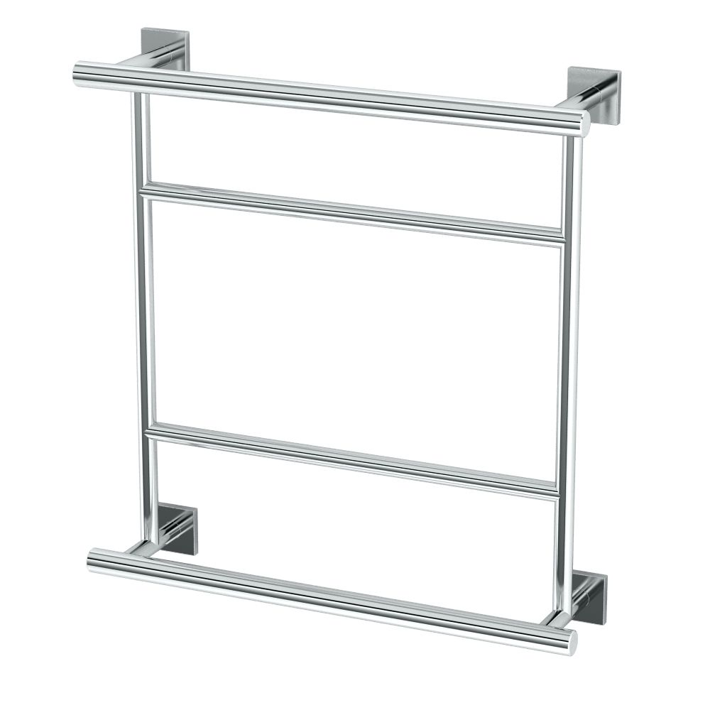 Gatco Elevate Hotel Towel Centre Rack Chrome