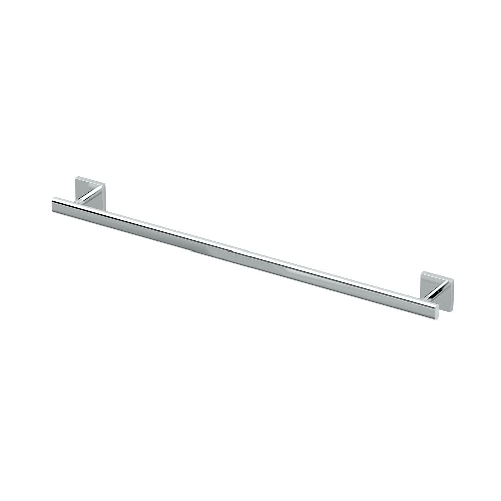 Gatco Elevate 24 inch L Towel Bar Chrome