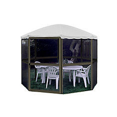 13 ft. Aluminum Permanent Round Gazebo