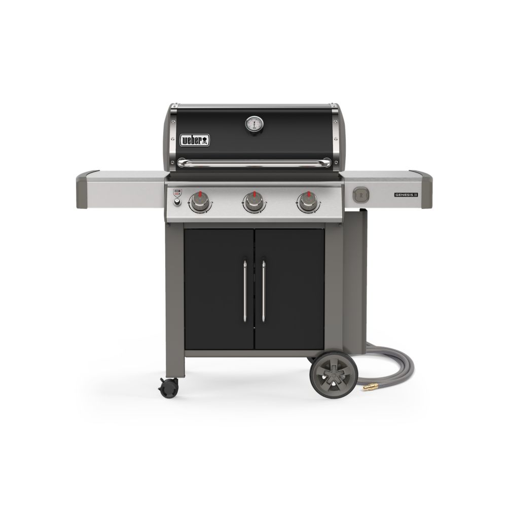 Weber GENESIS II E-315 3-Burner Natural Gas BBQ in Black