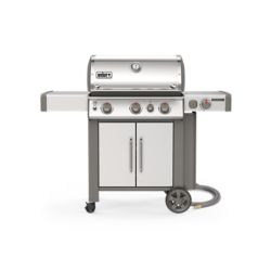 Weber GENESIS II S-335 Natural Gas Grill In Stainless Steel