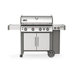 Weber Barbecue au propane liquide GENESIS II S-435, acier inoxydable