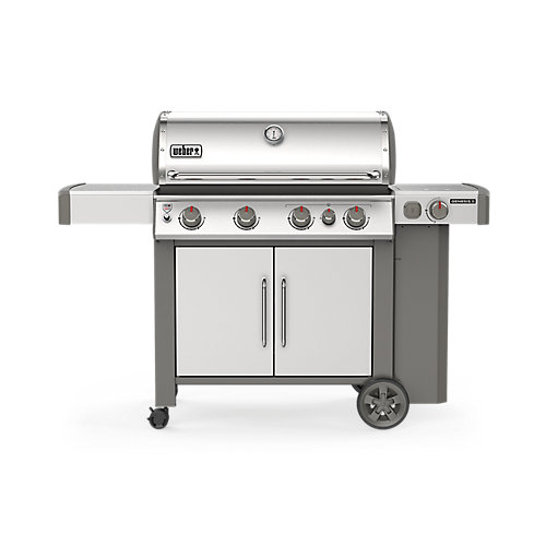 GENESIS II S-435 Liquid Propane BBQ in Stainless Steel