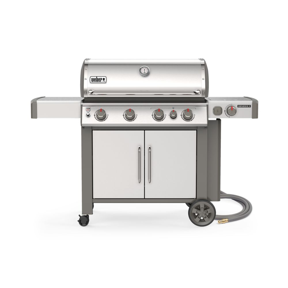 Weber GENESIS II S-435 Natural Gas BBQ in Stainless Steel