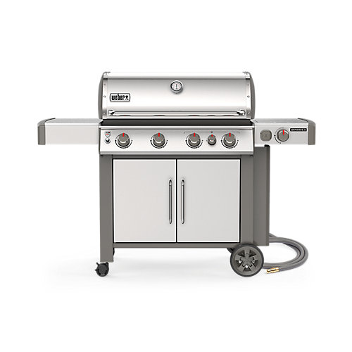GENESIS II S-435 Natural Gas Grill In Stainless Steel