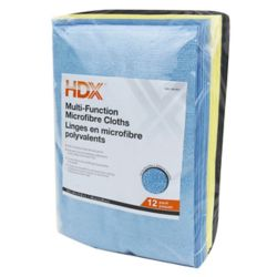 HDX Muti-Function Microfiber Cloth (12-Pack)
