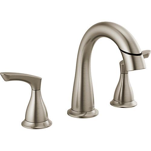 Broadmoor Two Handle Widespread Pulldown Bathroom Faucet - SpotShield Brushed Nickel