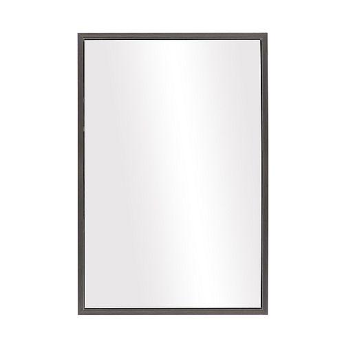 The Tangerine Mirror Company Ledge, Armani Chrome Mirror 25 x37 inch