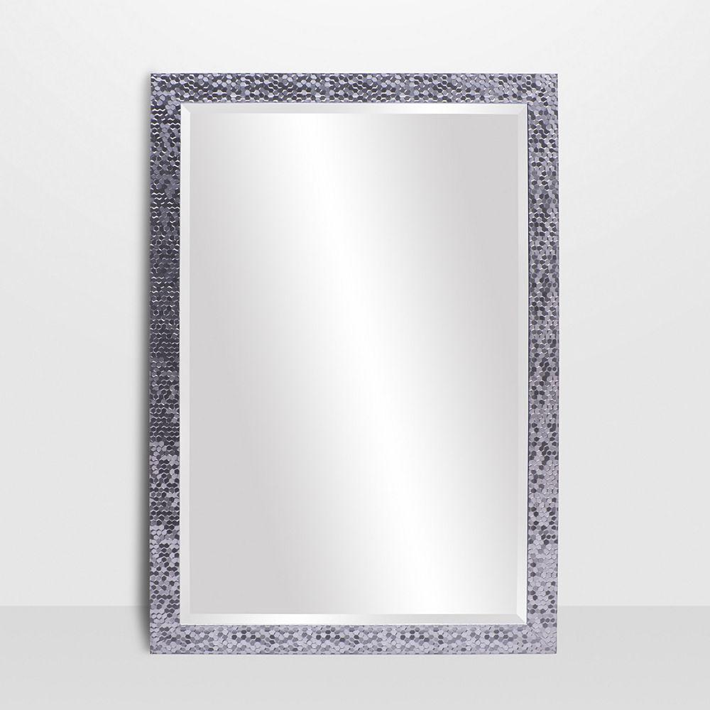 The Tangerine Mirror Company Builders Chrome Vanity Mirror