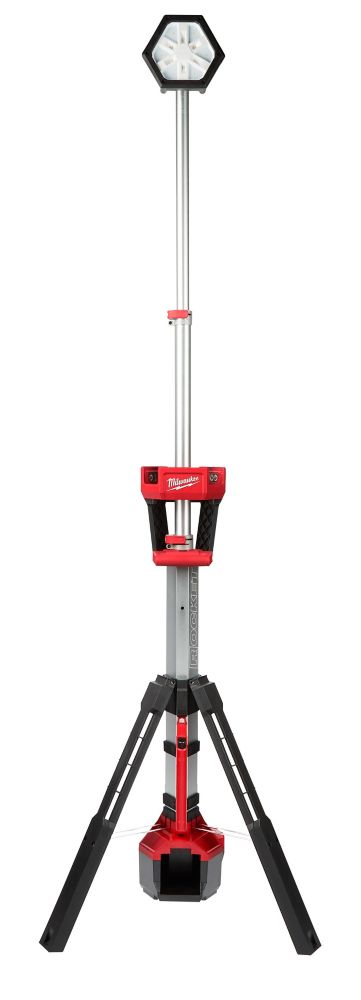 Milwaukee Tool M18 18V Lithium-Ion Cordless Rocket Dual Power Portable Tower Light (Tool-Only) 2131-20