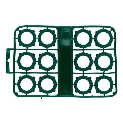 Orbit Rondelle d'étanchéité pour tuyaux d'arrosage, vinyle, ens. de 12
