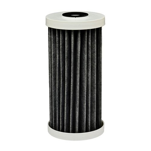 EcoPure Premium carbon FACT Universal Replacement Water Filter, 4.5 inch x 10 inch