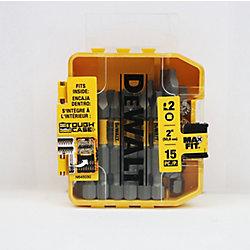 2-inch SQ 2 Screwdriving Bit (15-Pack)