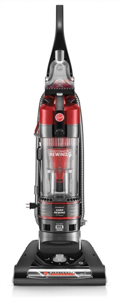 Hoover WindTunnel 2 Rewind Pet Bagless Upright Vacuum Cleaner