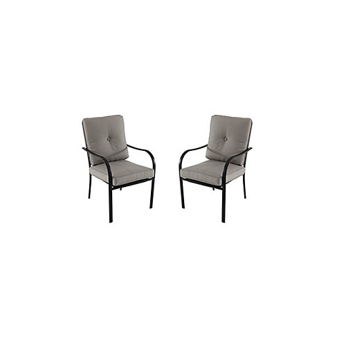 Vestri Tan Patio Dining Chairs (Set of 2)
