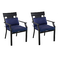 Coopersmith Dining Chairs - Navy (Set of 2)