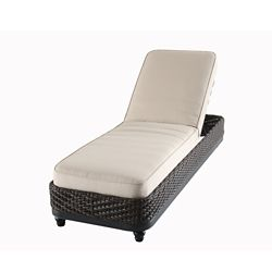 Home Decorators Collection Camden chaise longue - marron fonce