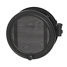 84773 Decorative Wall-Mounted Pivoting Hose Reel, 100-ft. Hose Capacity, Rust-Resistant