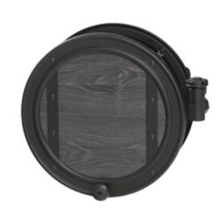 Ames 84773 Decorative Wall-Mounted Pivoting Hose Reel, 100-ft. Hose Capacity, Rust-Resistant