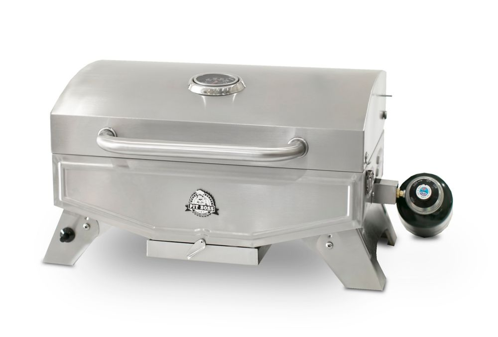 Pit Boss PB100P Single-Burner Portable Propane BBQ