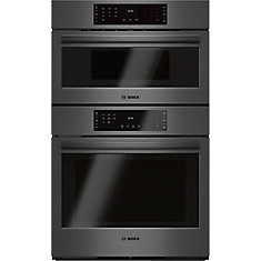 800 Series - 30 inch Speed Oven Combination Wall Oven - Black Stainless Steel