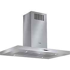 800 Series - 42 inch Slim Profile Box Canopy Island Hood - 600 CFM