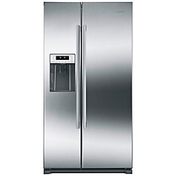 Bosch 300 Series - 36 inch 20.2 cu.ft. Counter-Depth Side x Side