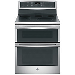 30-inch 6.6 cu. ft. Double Oven Electric Range with Self Cleaning Convection in Stainless Steel