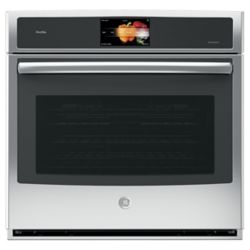 GE Profile 30 inch Built-In Single Electric Convection Wall Oven - Stainless steel