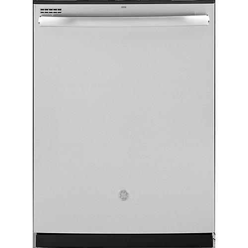 Lave-vaisselle à cuve haute encastrée Top Control de 24 po en acier inoxydable avec nettoyage à la vapeur