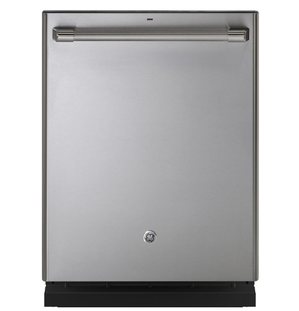 Café 24-inch Smart Top Control Built-In Tall Tub Dishwasher in Stainless Steel with Steam Cleaning