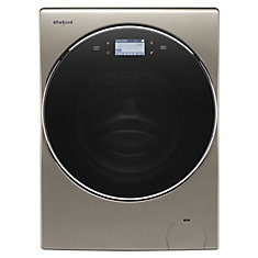3.2 cu. ft. Smart All-In-One Washer and Dryer with Load & Go