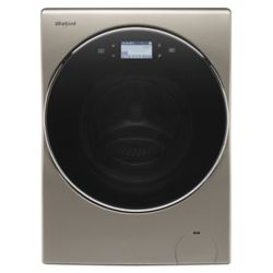 Whirlpool 3.2 cu. ft. Smart All-In-One Ventless Washer and Dryer with Load & Go in Cashmere