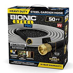 Bionic Steel Pro Acier Inoxydable Hose 15.2M