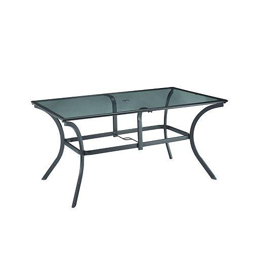 Hampton Bay Mix & Match 38-inch x 60-inch Patio Dining Table