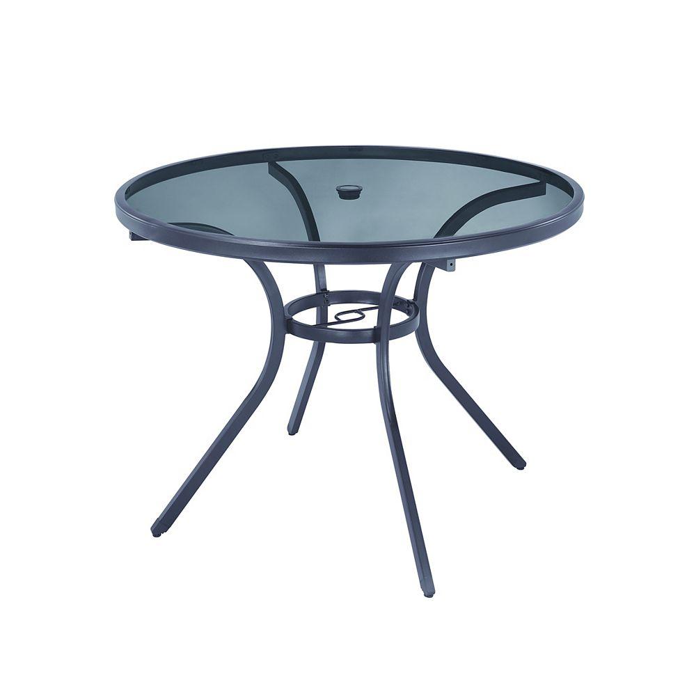Hampton Bay Mix & Match 42-inch Round Patio Dining Table
