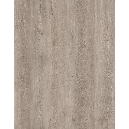 Planches autoadhésives en vinyle, chêne taupe, 6po x36po (18pi²/boîte)