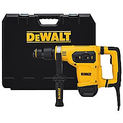 DEWALT 10.5 Amp 1 9/16-inch Corded SDS-max Combination Concrete/Masonry Rotary Hammer with SHOCKS and Case